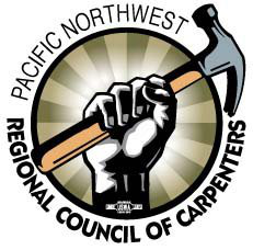 Image result for Pacific Northwest regional council of carpenters logo